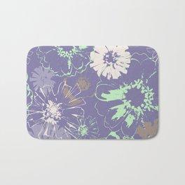 Late Summer Lavender Bath Mat