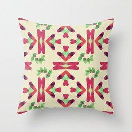 Boho Love Throw Pillow