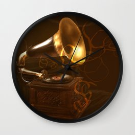 music 1 Wall Clock