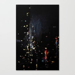 Chinatown Bus Canvas Print