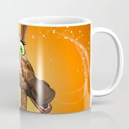 Funny cartoon giraffe Coffee Mug