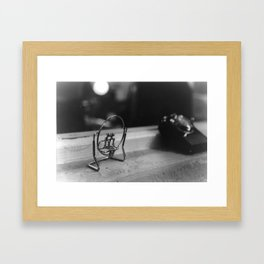 Alone Together Framed Art Print