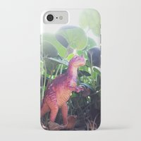dinosaur iPhone & iPod Cases featuring Dinosaur by cafelab