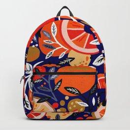 Fresh Citrus Mesh – Navy Backpack