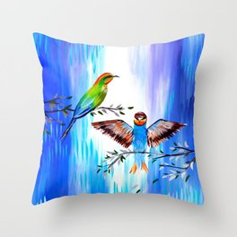 Our Love Story Throw Pillow