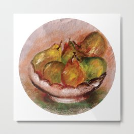 Frutas I (Fruits I) Metal Print