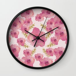 Make Room for Love Wall Clock