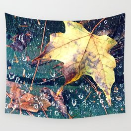 Fall in the Spider's Web Wall Tapestry