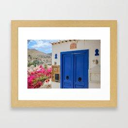 The Way to Greece VI Framed Art Print