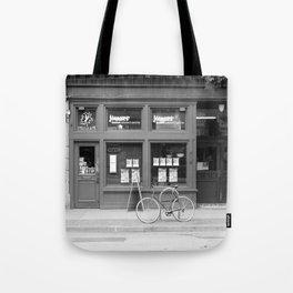 Downtown Eastside streetview Tote Bag