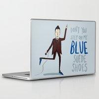 elvis Laptop & iPad Skins featuring Elvis by Emily Mackenzie
