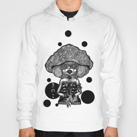 mushroom Hoodies featuring Mushroom by AKIKO