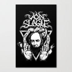 Sentenced to Death Canvas Print