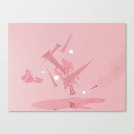 Voyage in Pink Canvas Print