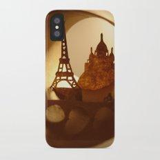 Paris iPhone X Slim Case