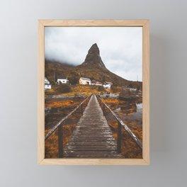 Magical Autumn Mountain  Framed Mini Art Print