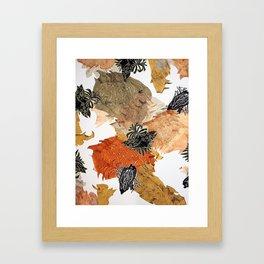 Carbonation Collection: pumpkin Framed Art Print