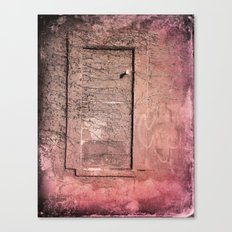 The Lost Window  Canvas Print