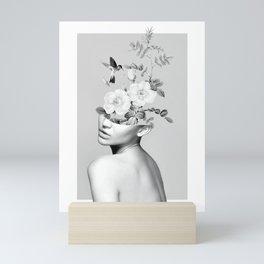 Floral beauty 2 Mini Art Print