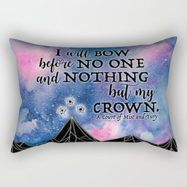 ACOMAF - Bow before no one Rectangular Pillow
