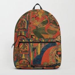 Hindu Krishna Tapestry Backpack