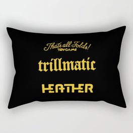 trillmatic Heather Rectangular Pillow
