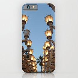 LACMA Lights photography iPhone Case