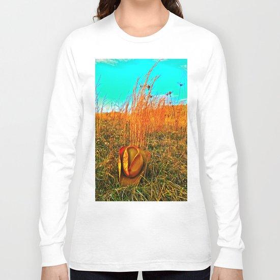 Lost Cowboy Hat  Long Sleeve T-shirt
