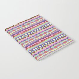 Stripey-Coolio Colors Notebook
