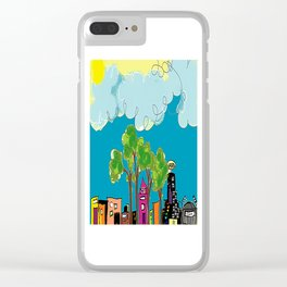 JL The City View Clear iPhone Case