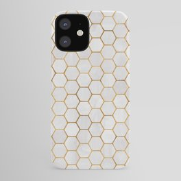 Geometric Hexagonal Pattern iPhone Case