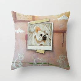 I'll take the dog instead Throw Pillow