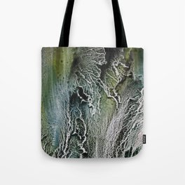 Cracked Abstraction Tote Bag