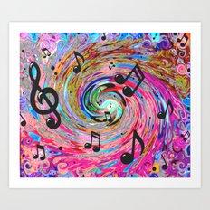 Musical Art Print