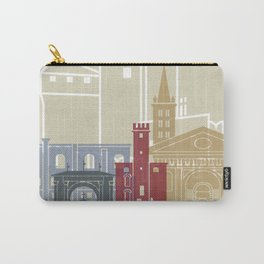 Aosta skyline poster Carry-All Pouch