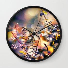 Primordial Autumn Wall Clock