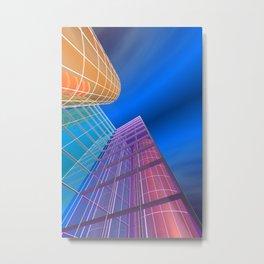 citylines -5- Metal Print