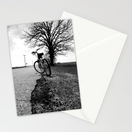 Biking with a Wise Oak Stationery Cards