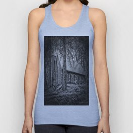 Church in the Woods Unisex Tank Top
