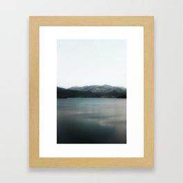 Calm Lake Framed Art Print