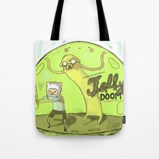 Jelly Doom Adventure Time Tote Bag