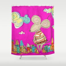 Urban Mouse Shower Curtain