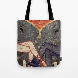 Circus Romance Tote Bag
