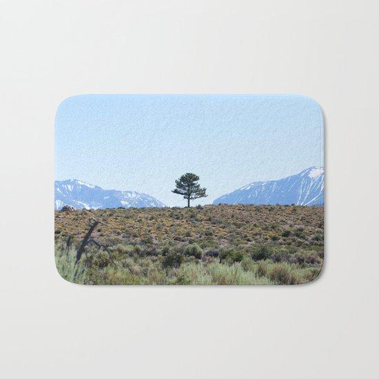 Resting Heart, Crowded Mind (Mono Lake Basin, California) Bath Mat