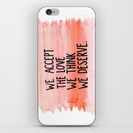 L O V E iPhone Skin