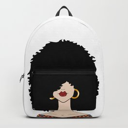 Curly Backpack