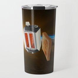 Space Toaster - Initiating Final Burn Procedure Travel Mug