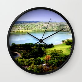Leg of Mutton Lake Wall Clock