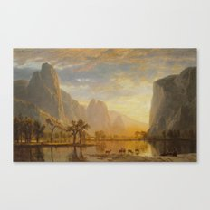 Albert Bierstadt - Valley of the Yosemite Canvas Print