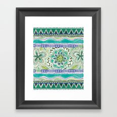 Boho Bloom Framed Art Print